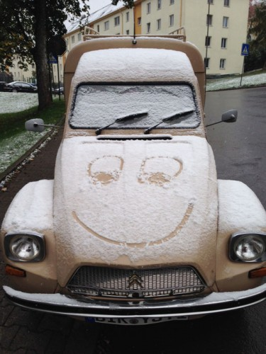Schneeauto